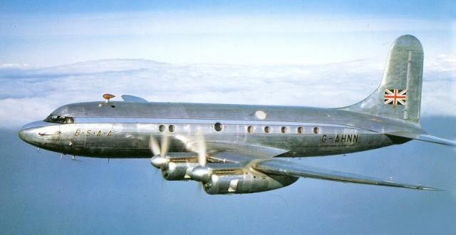Avro Tudor G-AHNN